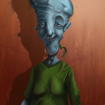 El odioso señor del metro (the hideous man of the subway)