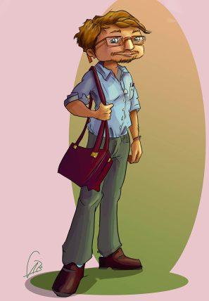 Santi, el amigo de Paloma