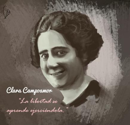 Clara-Campoamor- retrato