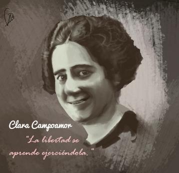 Clara Campoamor retrato