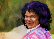 Berta Cáceres Retrato