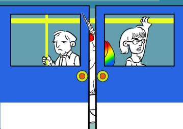 Lunicornio en el metro 3