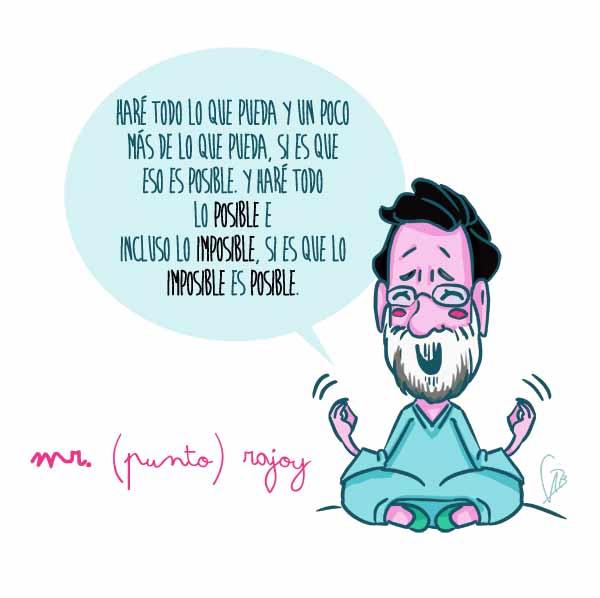 Mr. (punto) Rajoy